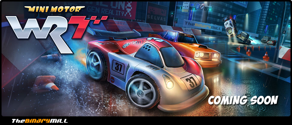 Mini Motor Racing WRT - for iOS