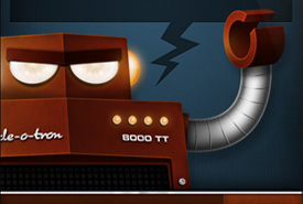 Penny Arcade's Decide-o-tron Screenshot for iPhone